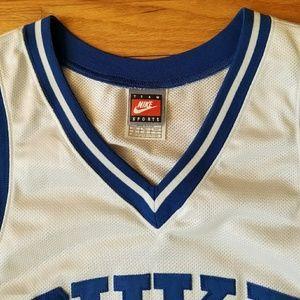 f6f2b8706f55 Nike Shirts - Vintage Nike Duke Team-Issued Basketball Jersey